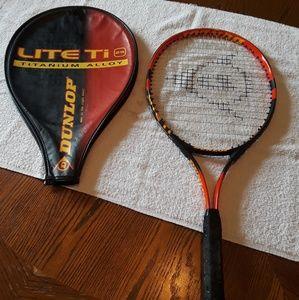Dunlop Lite To 25 Titanium Alloy Tennis Racket